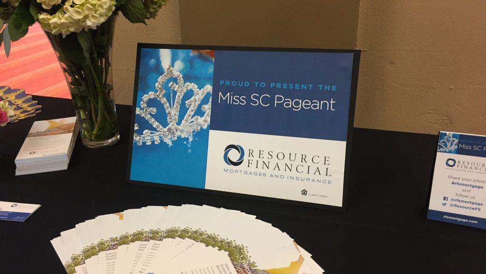 Miss South Carolina Sponsor Table