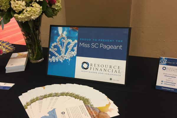 Resource Financial Services Presenting Sponsor for 2017 Miss South Carolina