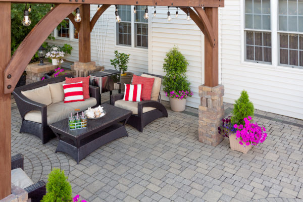 An Outdoor Living Space Adds Value – Especially Now